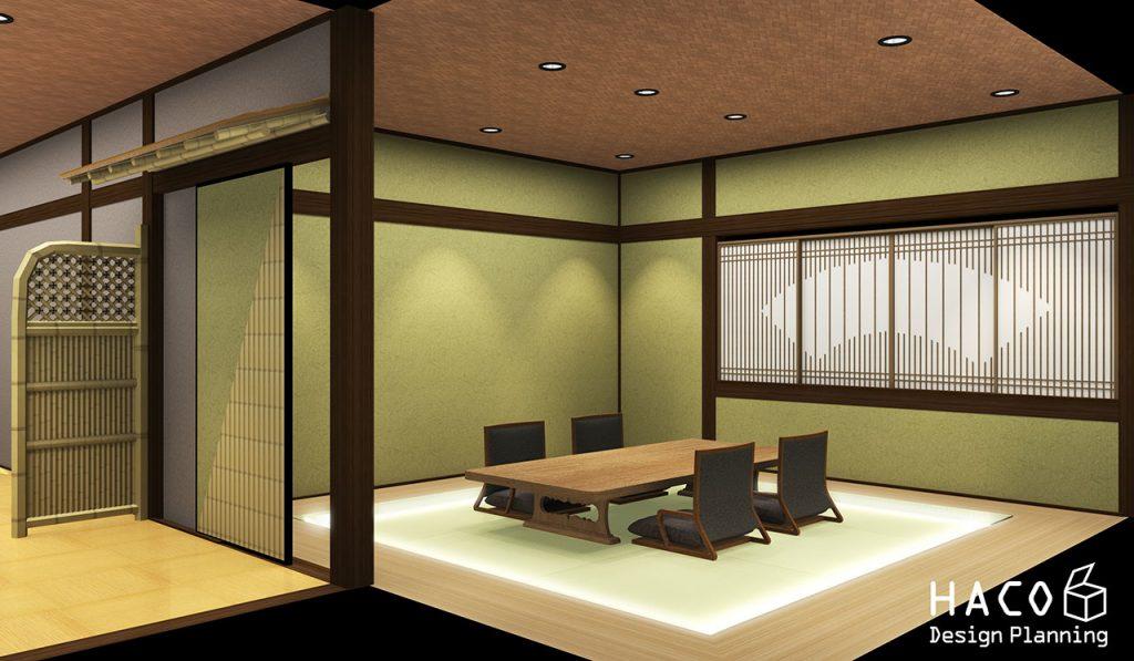 滋賀 設計士 住宅 守山市 和風飲食店