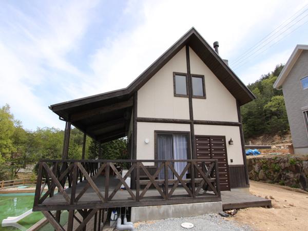 琵琶湖の別荘