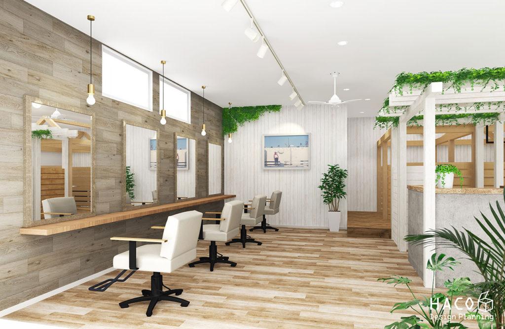 滋賀 設計士 住宅 守山市 美容室