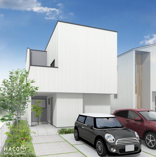 滋賀県大津市の家パース完成