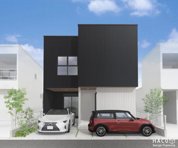 滋賀県野洲市の家パース完成