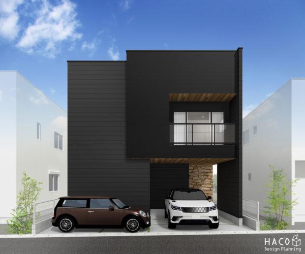 滋賀県守山市の家パース完成