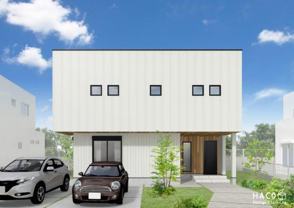 滋賀県石山の家パース完成