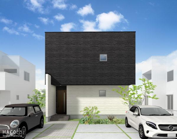 滋賀県彦根の家 パース完成